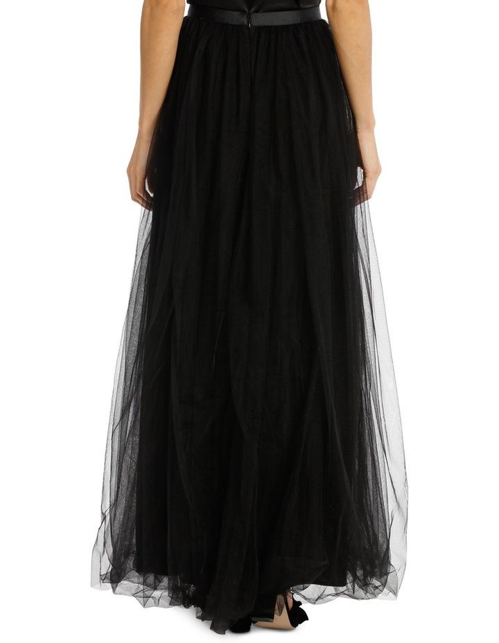 Black Maxi Tulle Skirt image 3
