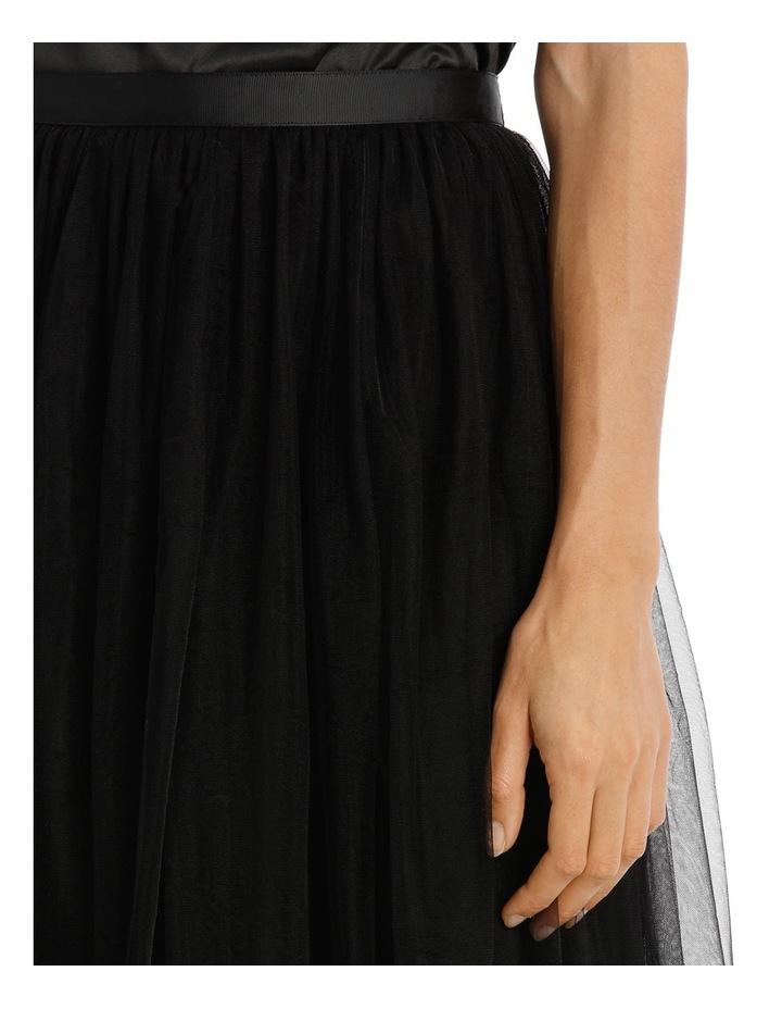 Black Maxi Tulle Skirt image 4