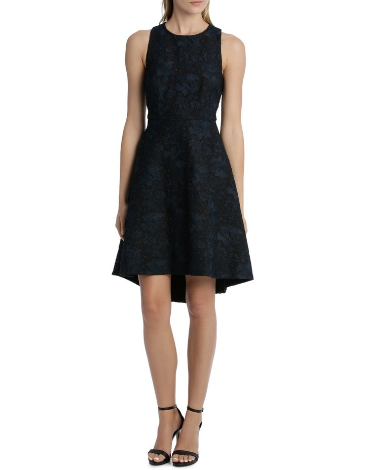 Midnight Aura Bonded High Low Lace Dress image 1