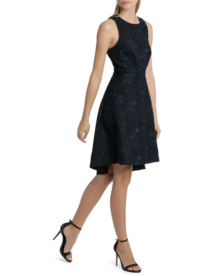 Midnight Aura Bonded High Low Lace Dress image 2