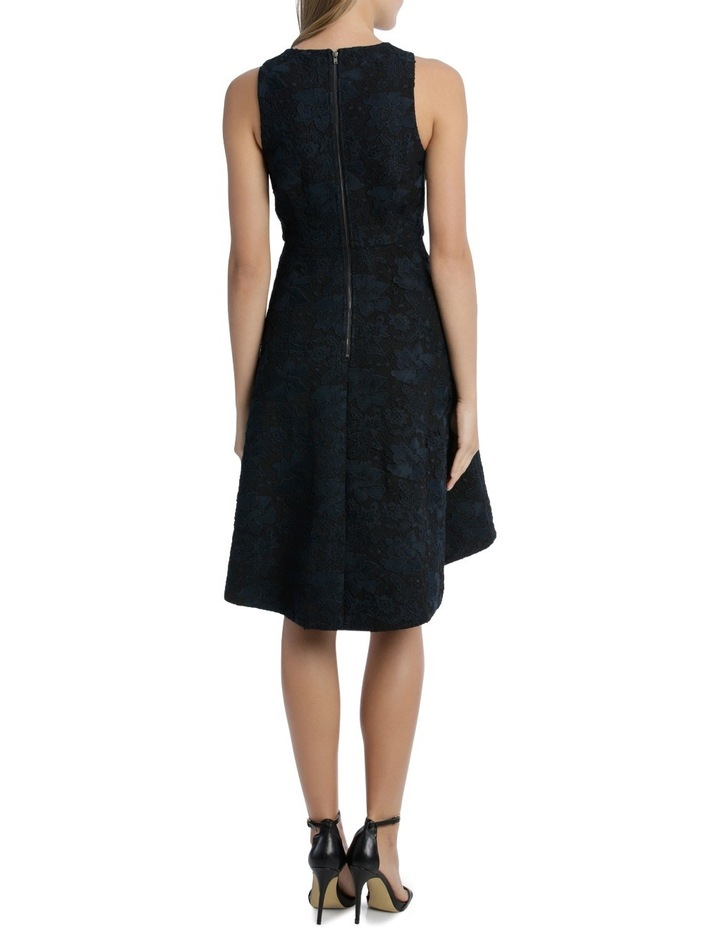 Midnight Aura Bonded High Low Lace Dress image 3