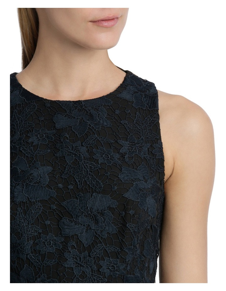 Midnight Aura Bonded High Low Lace Dress image 4