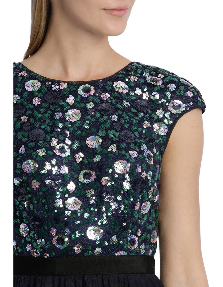 Sequin Galaxy Dress image 4