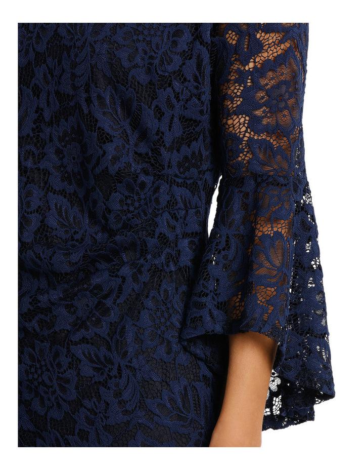 Lauren Lace Side Rouch Dress image 4