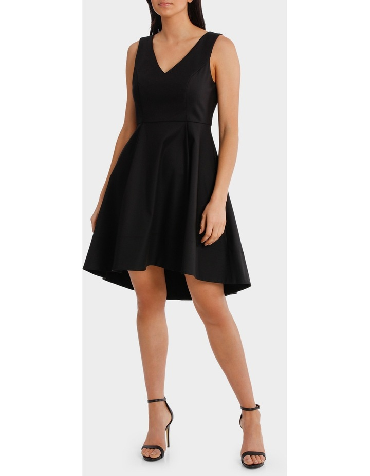 Fit And Flare High Low Dress image 1