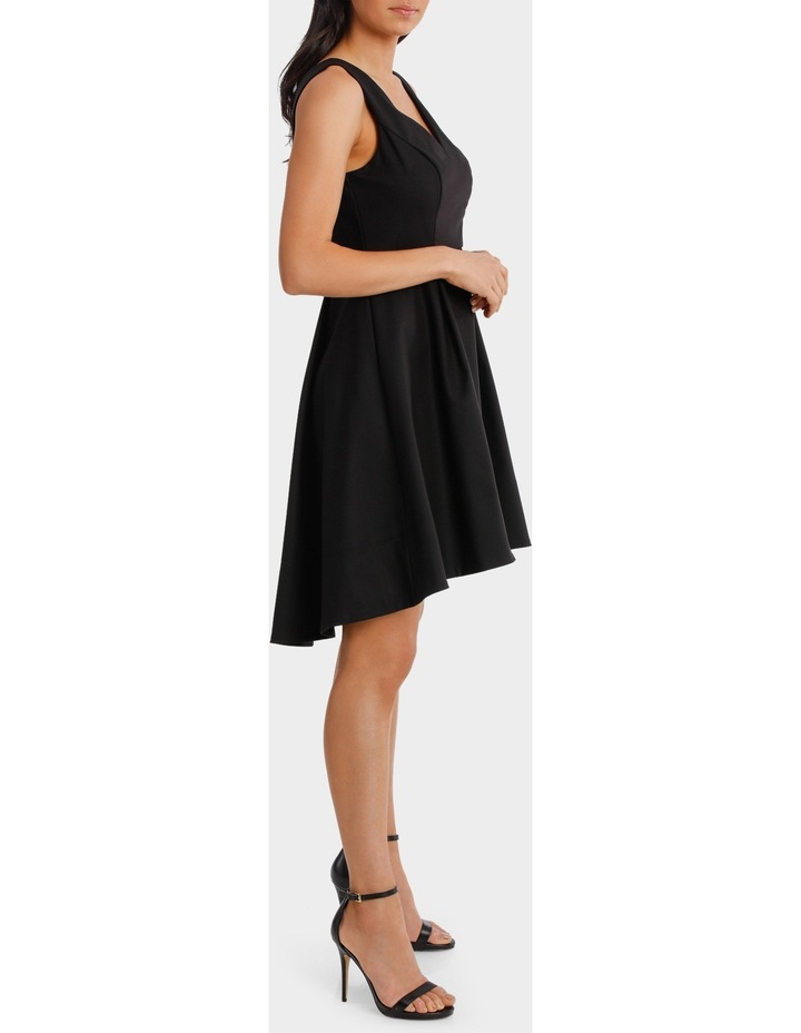 Fit And Flare High Low Dress image 2