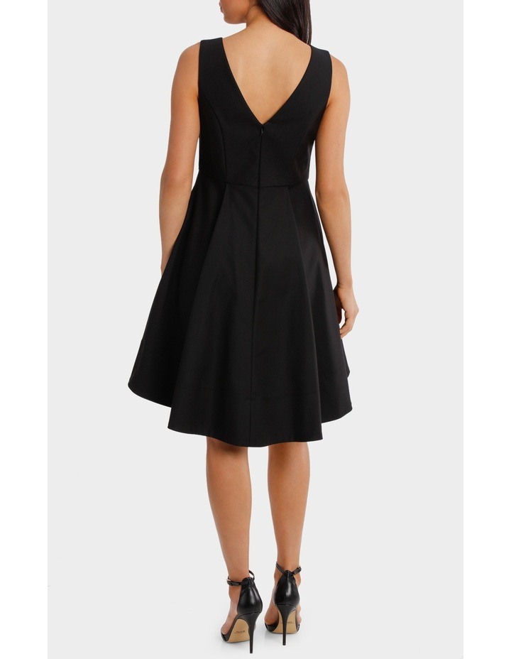 Fit And Flare High Low Dress image 3