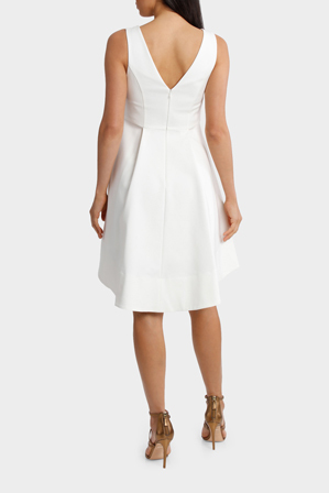 Wayne Cooper Events - Fit And Flare High Low Dress