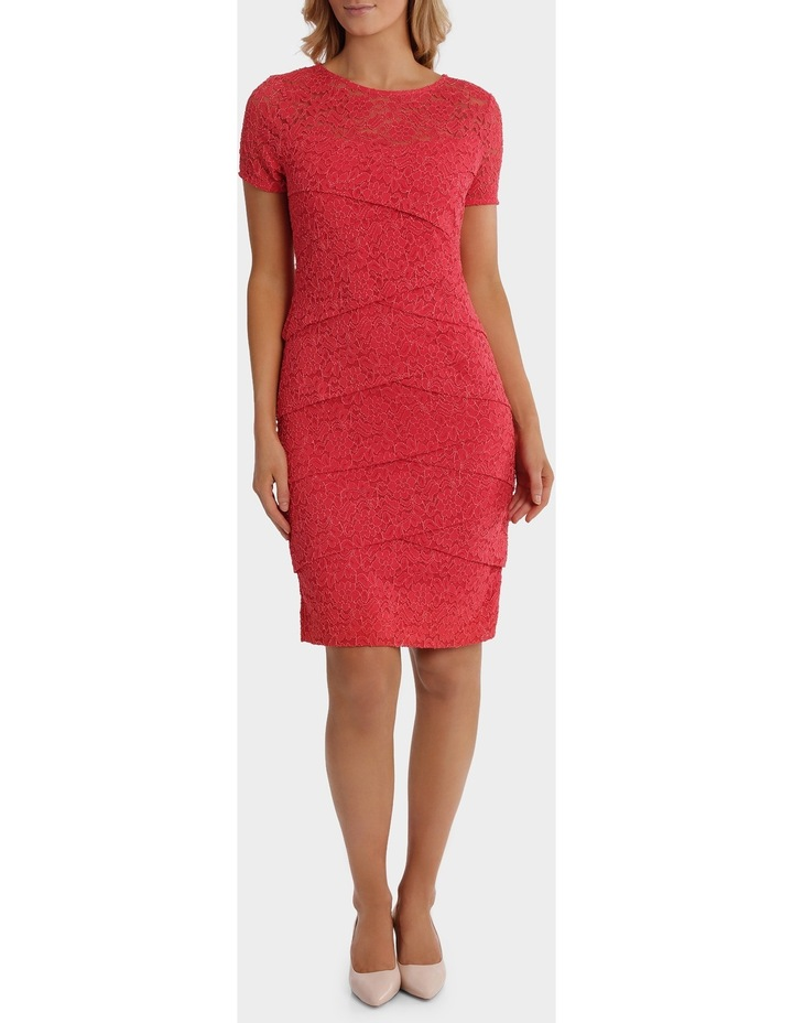 Layer Lace Shift Dress With Sleeve image 1