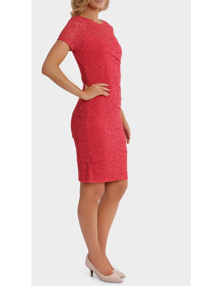 Layer Lace Shift Dress With Sleeve image 2