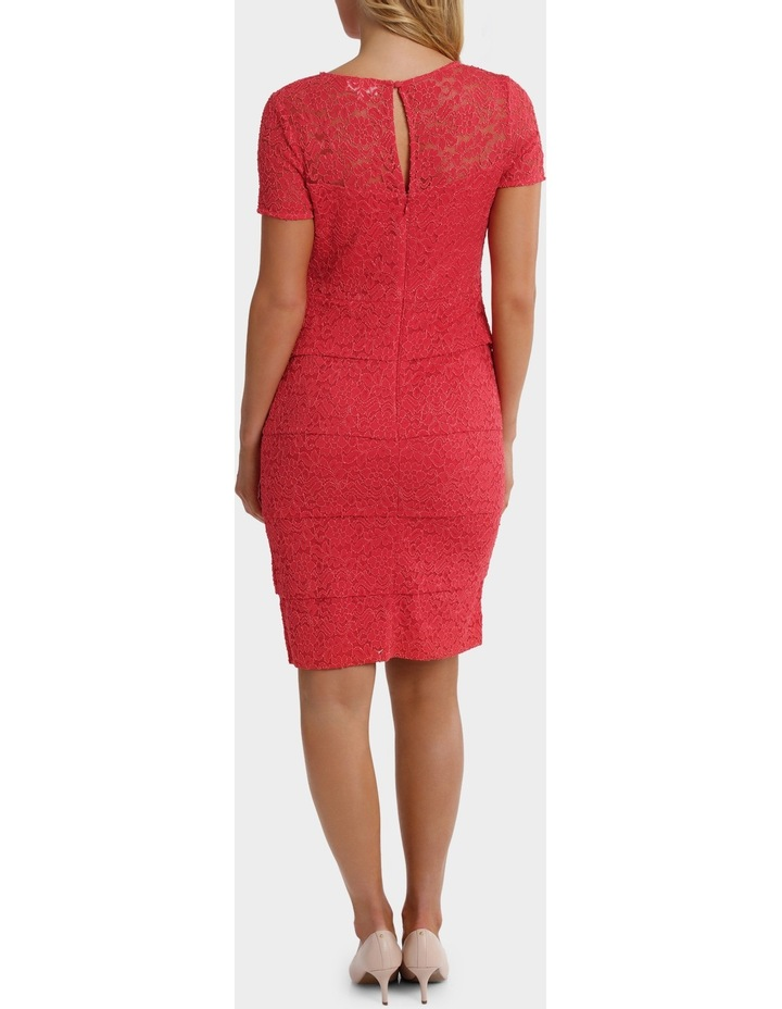Layer Lace Shift Dress With Sleeve image 3