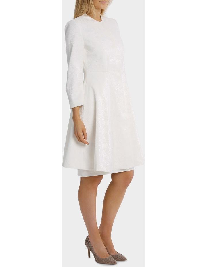 Bonded Lace Jacquard Coat image 2