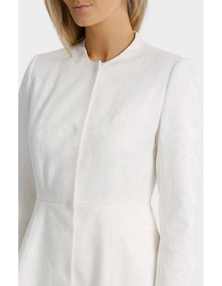 Bonded Lace Jacquard Coat image 4