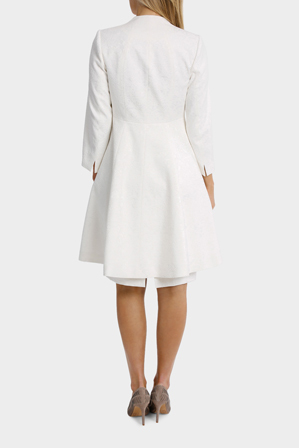 Trent Nathan Events - Bonded Lace Jacquard Coat