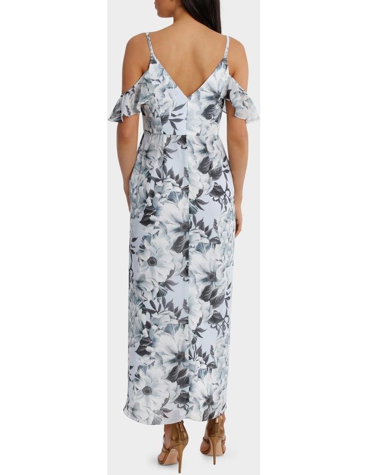 Fantasia Floral Flutter Off Shoulder Dress image 3
