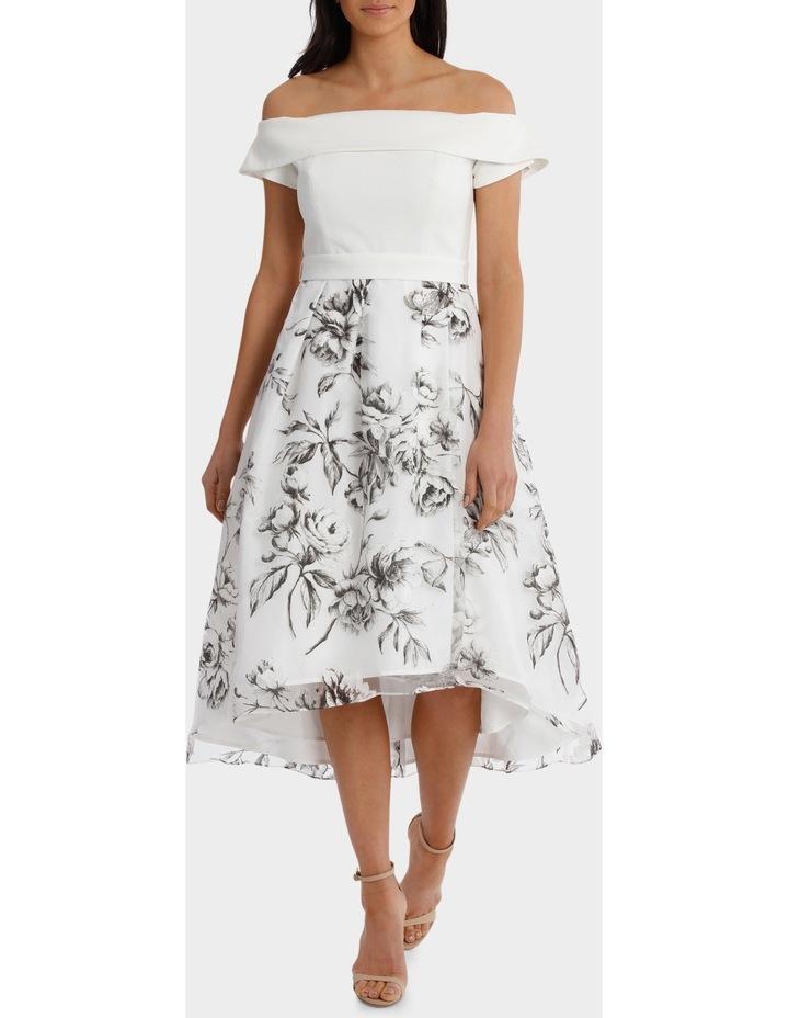 Floral Off The Shoulder Dress image 1