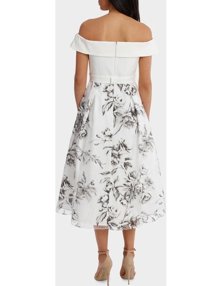 Floral Off The Shoulder Dress image 3