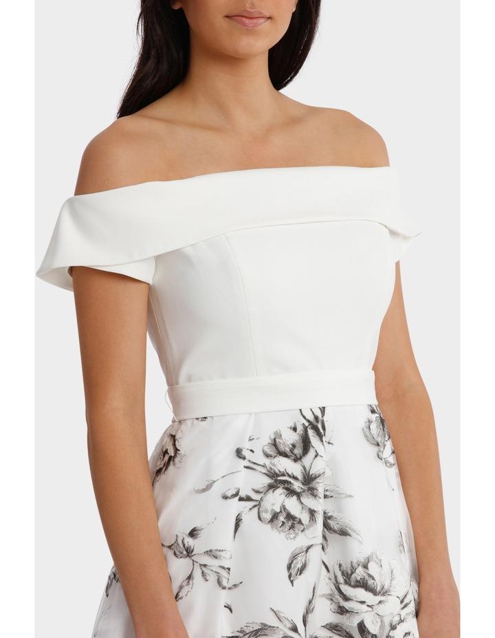 Floral Off The Shoulder Dress image 4