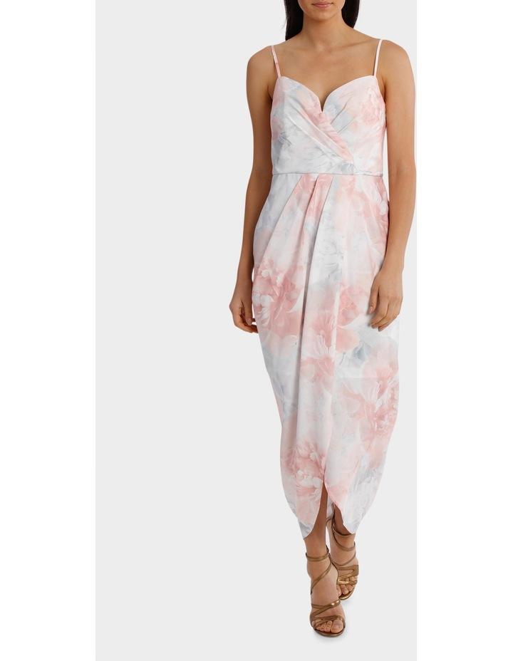 Chrysthemum Wrap Bodice Soft Dress image 1