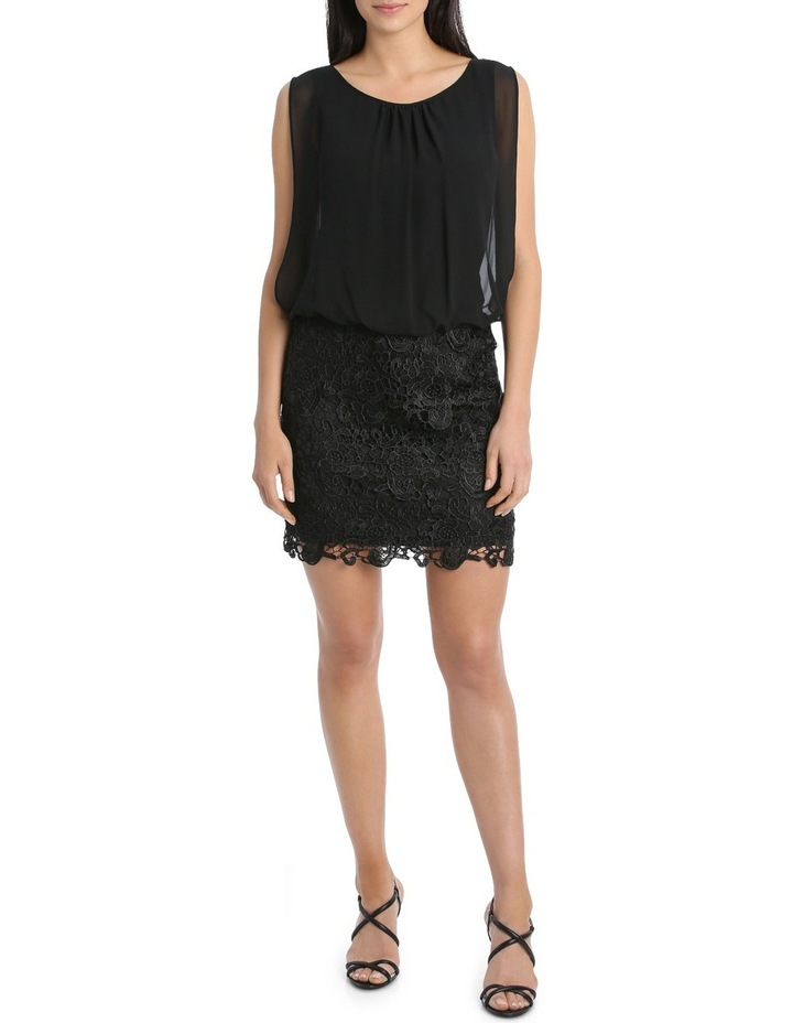 Lace Blouson Dress image 1