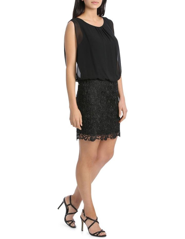 Lace Blouson Dress image 2