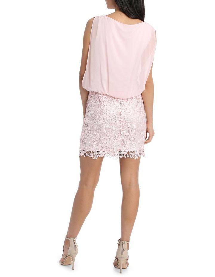 Lace Blouson Dress image 3