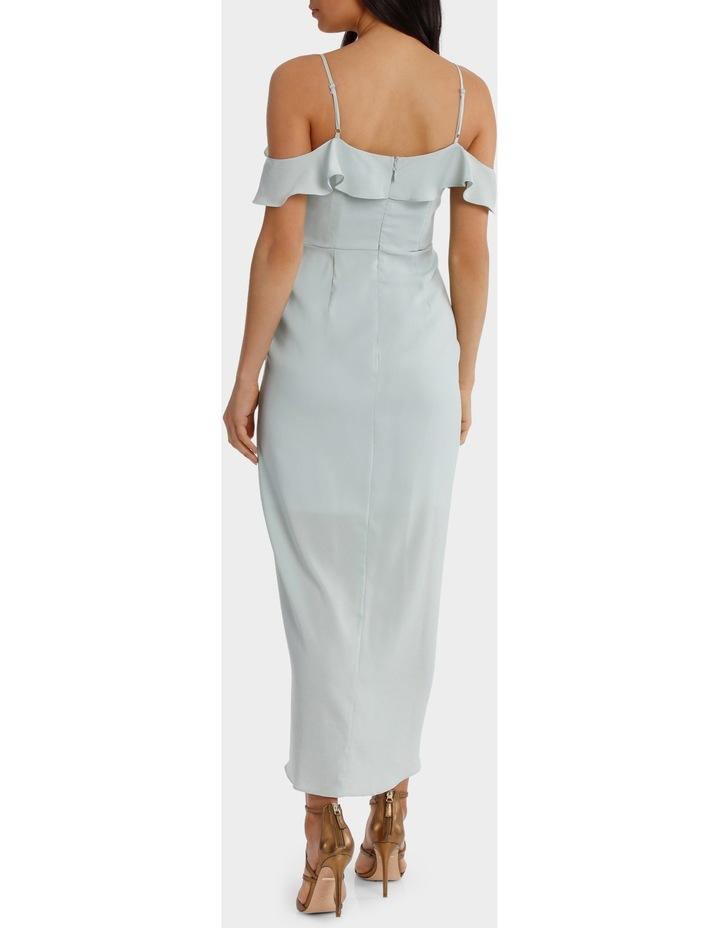 Mint Flutter Off The Shoulder Dress image 3