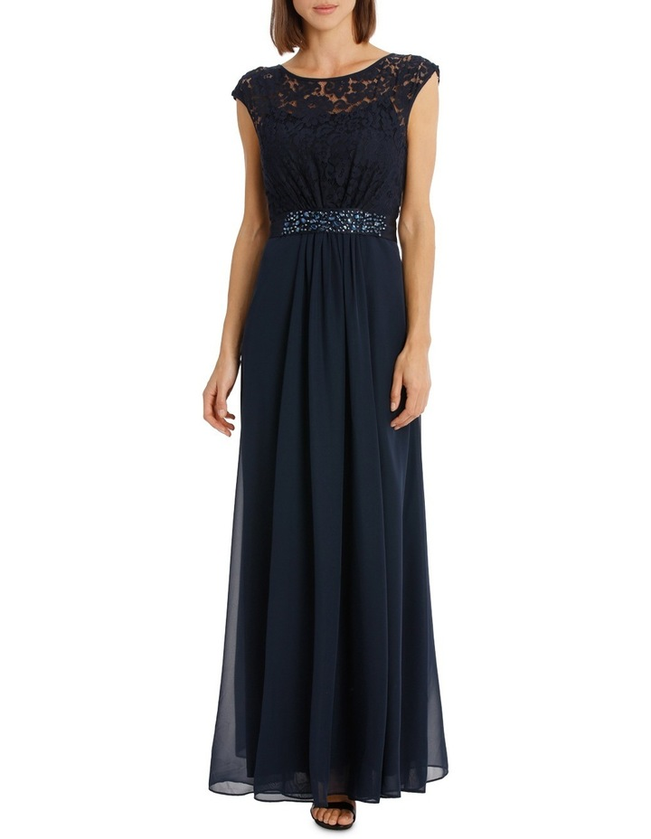 Lace Bodice Gown Dress image 1