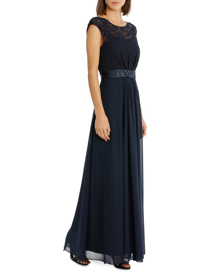 Lace Bodice Gown Dress image 2