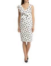 Ivory Fancy Spot Dress