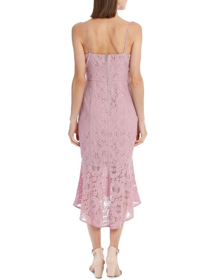 Peony Spaghetti Strap Fitted Lace Dress image 2