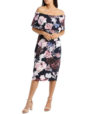 2ef51e4823b16 Collection Off The Shoulder Shift Dress