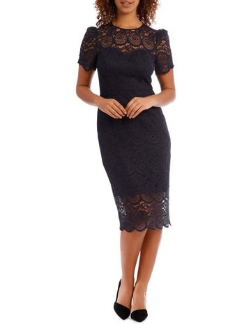 7b72f36adf3 Collection Midnight Mosaic Puff Lace Dress