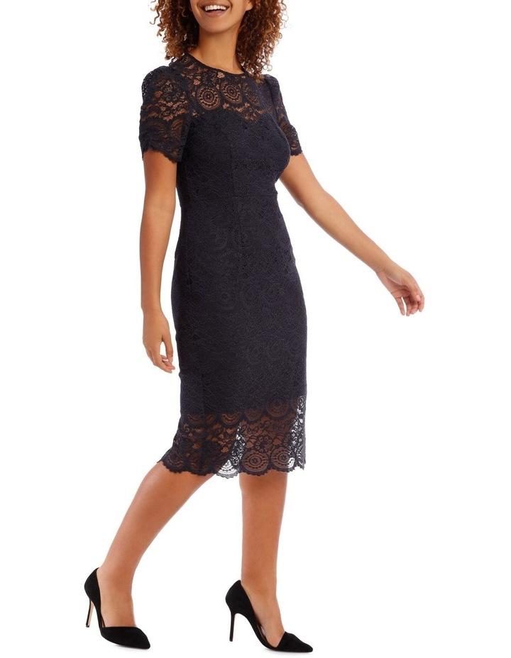 Midnight Mosaic Puff Lace Dress image 2
