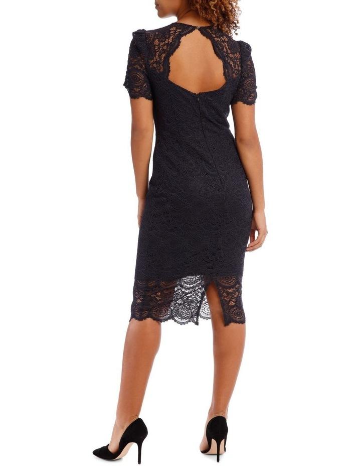Midnight Mosaic Puff Lace Dress image 3