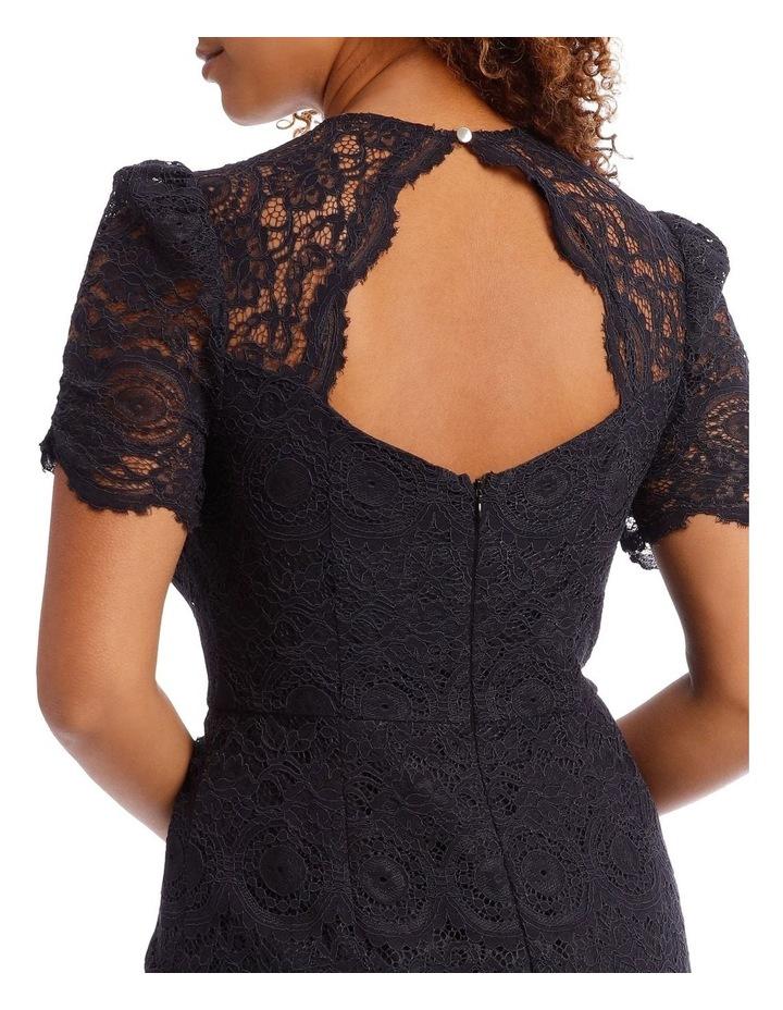 Midnight Mosaic Puff Lace Dress image 4