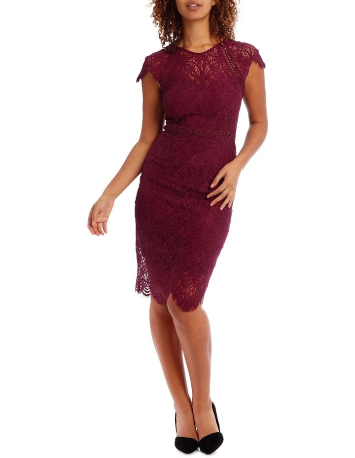 Very Berry Stain Glass High Neck Lace Dress image 1