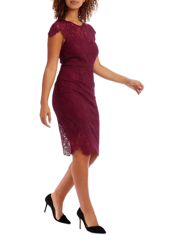 Very Berry Stain Glass High Neck Lace Dress image 2