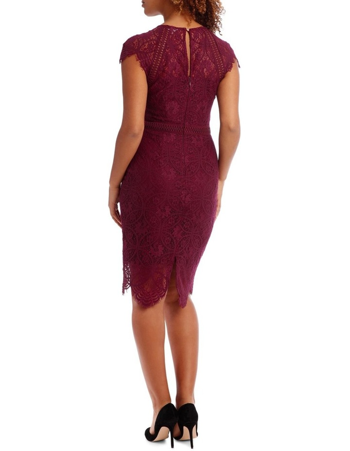 Very Berry Stain Glass High Neck Lace Dress image 3