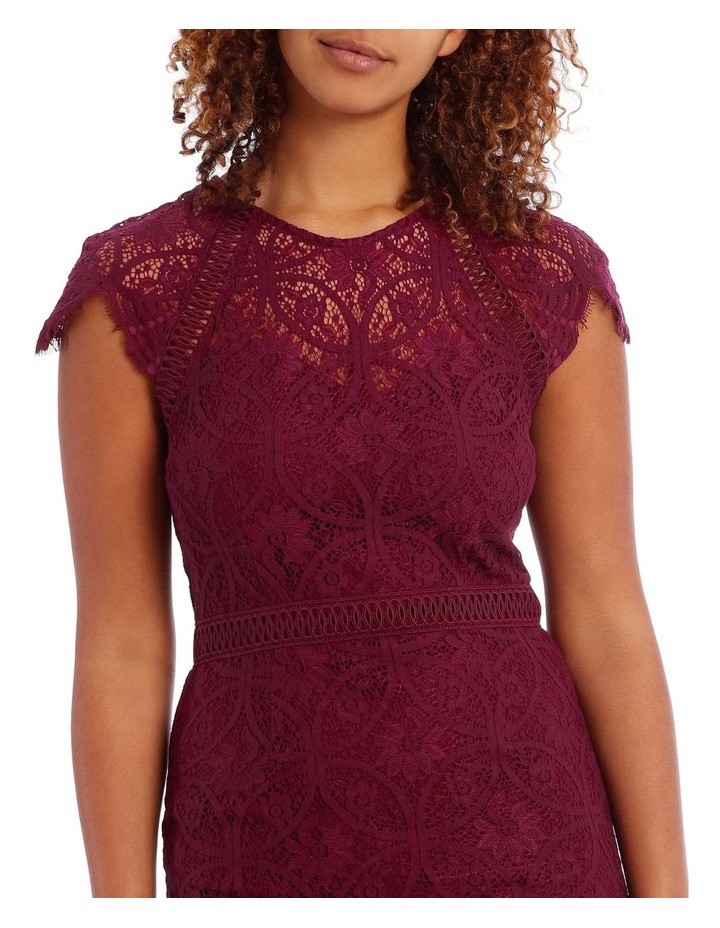 Very Berry Stain Glass High Neck Lace Dress image 4