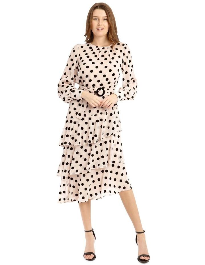 Flock Spot Dress image 1