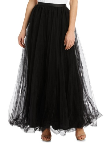 e8434567208 Collection Black Tulle Skirt