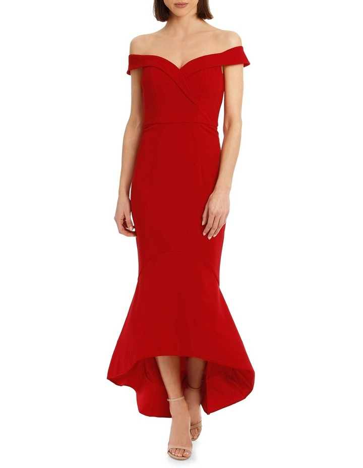 Ruth Off Shoulder Trumpet Midi image 1