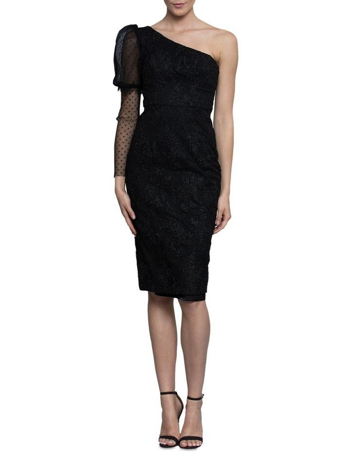 Emma One Sleeve Lace Dress image 1