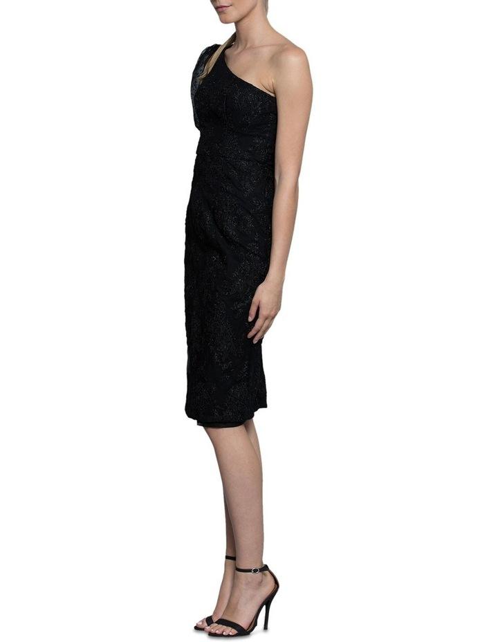 Emma One Sleeve Lace Dress image 3