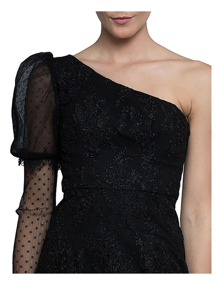 Emma One Sleeve Lace Dress image 4