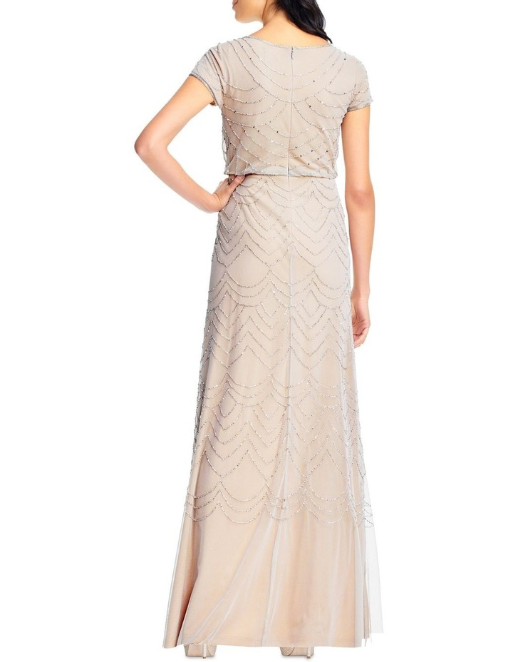 Short Sleeve Beaded Maxi Dress image 2