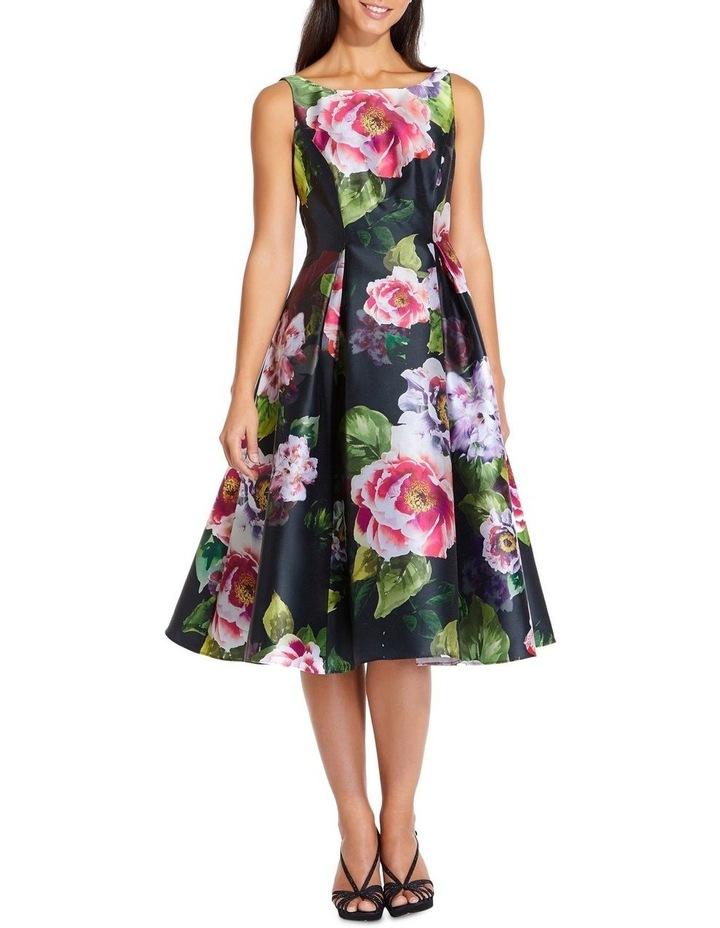 Print Mikado Dress image 1