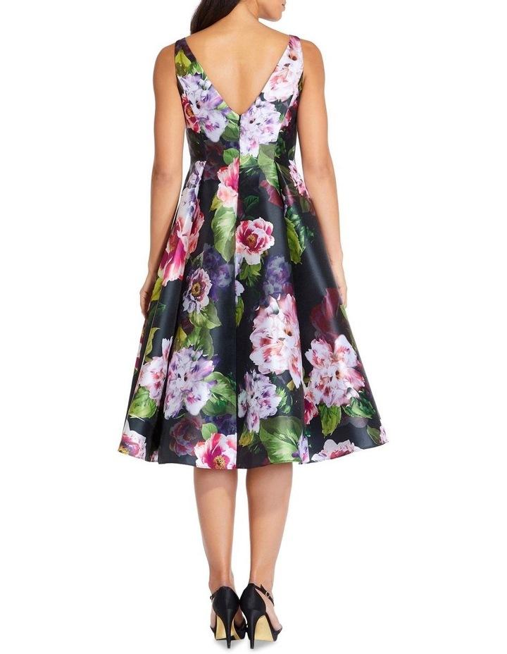 Print Mikado Dress image 2