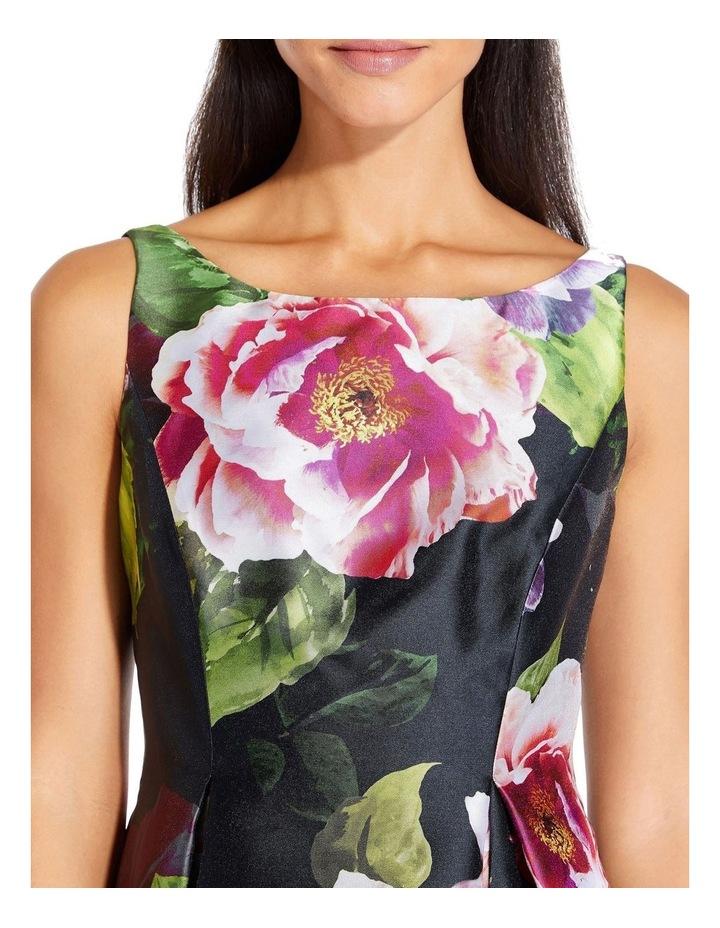 Print Mikado Dress image 3